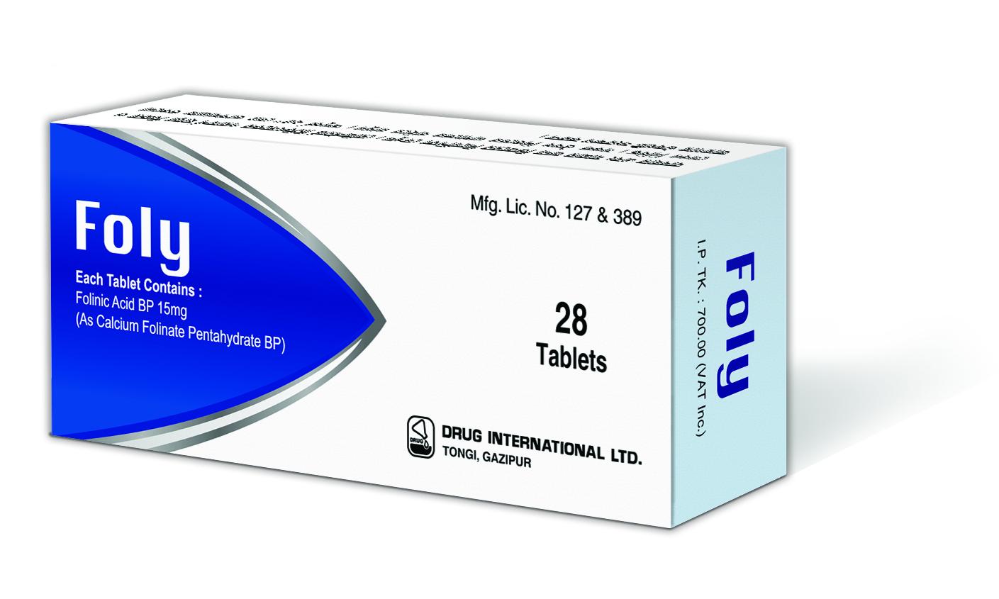 folinic acid tab